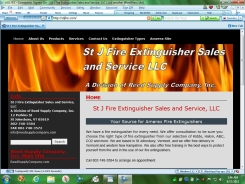 St J Fire Extinguisher Sales and Service