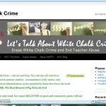 White Chalk Crime