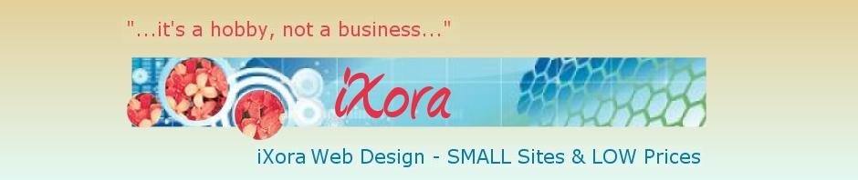 iXoraBrown Web Design